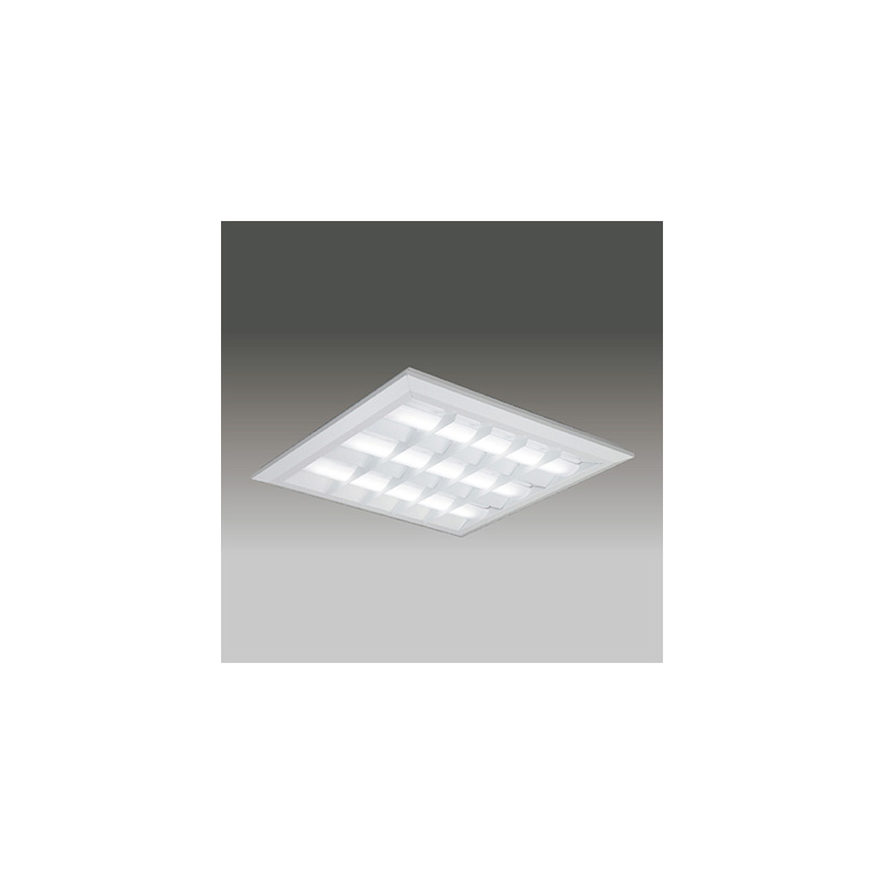 ◎東芝 LEDベースライト TENQOOスクエア LEDバータイプ FHP45形×4灯用器具相当 昼光色 直付埋込兼用形 バッフルタイプ 埋込穴□690mm AC100V~242V 専用調光器対応 LEDバー付 LEKT771112D-LD9