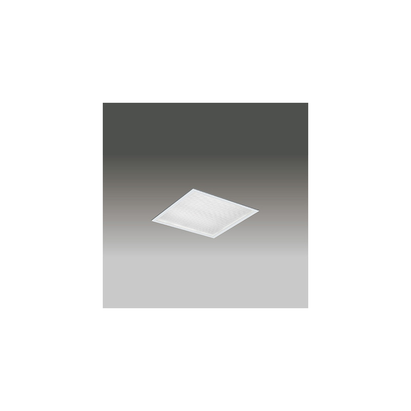 ◎東芝 LEDベースライト TENQOOスクエア パネルタイプ FHP23形×4灯用器具相当 昼白色 埋込形 プリズムパネル 埋込穴□275mm AC100V~242V 専用調光器対応 LEDパネル付 LEKR727401ZN-LD9