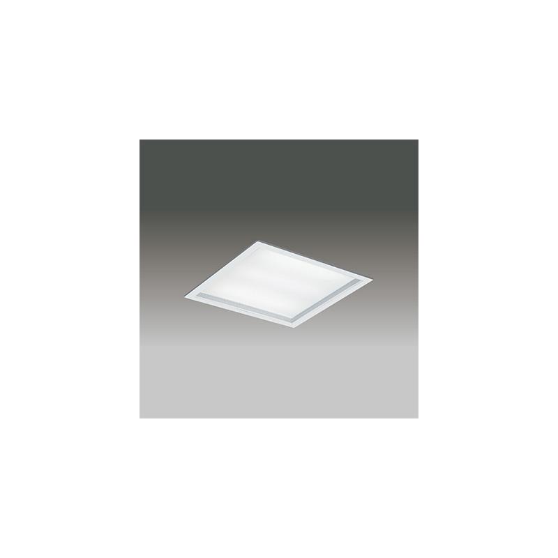 ◎東芝 LEDベースライト TENQOOスクエア パネルタイプ FHP32形×3灯用器具相当 白色 埋込形 深枠(白)パネル 埋込穴□450mm AC100V~242V 専用調光器対応 LEDパネル付 LEKR745651UW-LD9