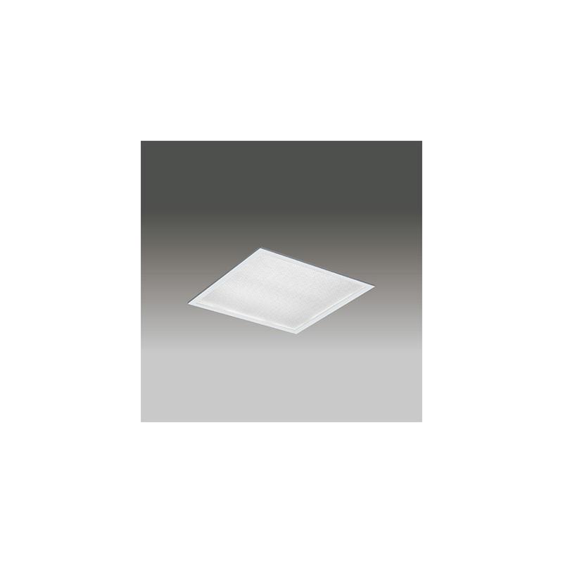 ◎東芝 LEDベースライト TENQOOスクエア パネルタイプ FHP32形×3灯用器具相当 温白色 埋込形 プリズムパネル 埋込穴□450mm AC100V~242V 専用調光器対応 LEDパネル付 LEKR745651ZWW-LD9 ※受注生産品