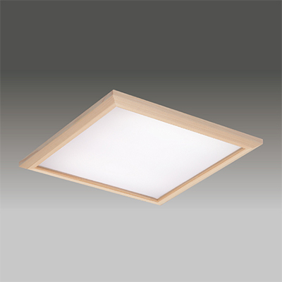 ◎東芝 LEDベースライト TENQOOスクエア パネルタイプ FHP45形×4灯用器具相当 昼白色 埋込形 和風乳白パネル 埋込穴□600mm AC100V~242V 専用調光器対応 LEDパネル付 LEKR760101JN-LD9