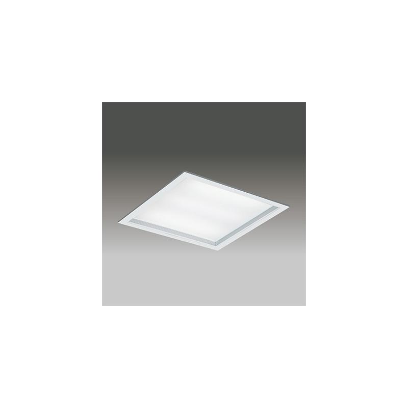 ◎東芝 LEDベースライト TENQOOスクエア パネルタイプ FHP45形×3灯用器具相当 電球色 埋込形 深枠(白)パネル 埋込穴□600mm 専用調光器対応 LEDパネル付 LEKR760901UL-LD9(LEER76021LD9+LEEM70901LUF) ※受注生産品