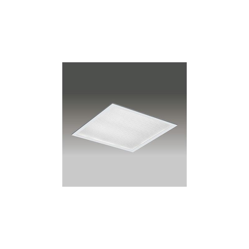 ◎東芝 LEDベースライト TENQOOスクエア パネルタイプ FHP45形×4灯用器具相当 温白色 埋込形 プリズムパネル 埋込穴□600mm AC100V~242V 専用調光器対応 LEDパネル付 LEKR760101ZWW-LD9 ※受注生産品