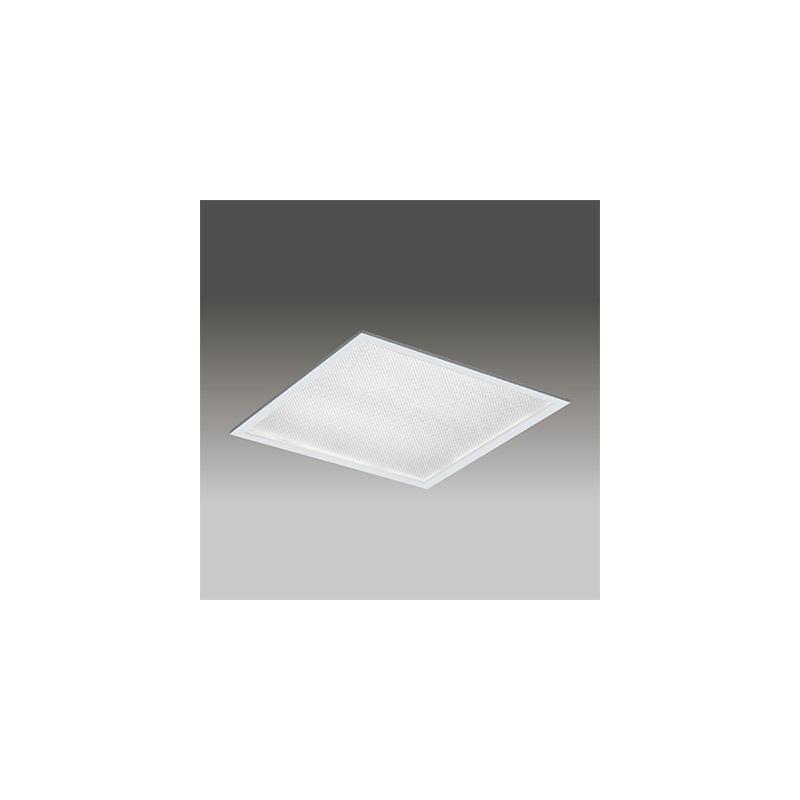 ◎東芝 LEDベースライト TENQOOスクエア パネルタイプ Hf16形×4灯用器具相当 白色 埋込形 プリズムパネル 埋込穴□639mm AC100V~242V 専用調光器対応 LEDパネル付 LEKR763501ZW-LD9