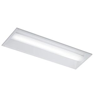 ◎東芝 LEDベースライト TENQOO 埋込形 20タイプ 下面開放W220 高演色3,200lmタイプ Hf16形×2灯用高出力器具相当 白色 AC100V~242V LEDバー付 LEER-22202-LS9+LEEM-20323W-VB ※受注生産品:わがと照明