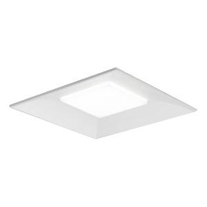 ◎東芝 LEDベースライト 一体形スクエア光源ユニットタイプ(光源ユニット付) 埋込形 □600タイプ 一般タイプ 埋込穴□600 FHP32形×4灯相当 電球色 専用調光器対応 LEKR60S801L-LD9(LEER76031+LEEMS70801LLD9)