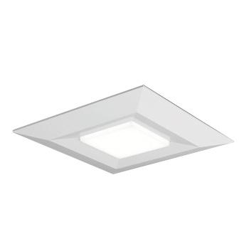 ◎東芝 LEDベースライト 一体形スクエア光源ユニットタイプ(光源ユニット付) 直付・埋込兼用形 □720タイプ グレア抑制タイプ 埋込穴□640 FHP32形×3灯相当 昼白色 専用調光器対応 LEET-77231+LEEM-G-70651N-LD9 ※受注生産品