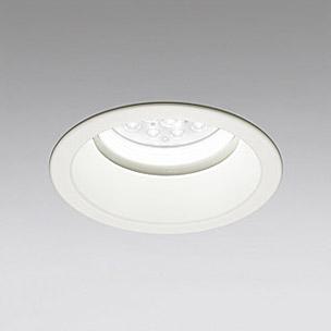 ◎ODELIC LED軒下用ベースダウンライト CDM-TP70W相当 オフホワイト 51° 埋込穴Φ150mm 白色 4000K  M形 一般型 調光非対応 防雨形 XD258025F ※受注生産品