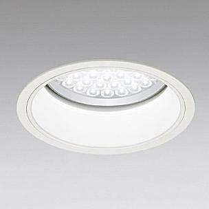 ◎ODELIC LED軒下用ベースダウンライト FHT42W×3灯相当 アイボリーホワイト 69° 埋込穴Φ200mm 昼白色 5000K  M形 一般型 調光非対応 防雨形 XD258082 ※受注生産品