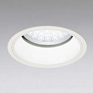 ◎ODELIC LED軒下用ベースダウンライト セラミックメタルハライド100W相当 アイボリーホワイト 69° 埋込穴Φ200mm 昼白色 5000K  M形 一般型 調光非対応 防雨形 XD258098 ※受注生産品