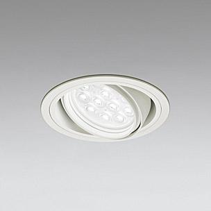 ◎ODELIC LEDベースダウンライト CDM-T35W相当 オフホワイト 49° 埋込穴Φ125mm 白色 4000K  M形 一般型 調光非対応 XD258143F ※受注生産品