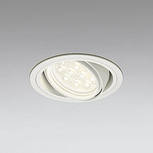 ◎ODELIC LEDベースダウンライト CDM-T35W相当 オフホワイト 20° 埋込穴Φ125mm 電球色 3000K  M形 一般型 調光非対応 XD258196F ※受注生産品