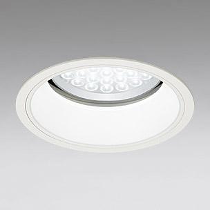 ◎ODELIC LEDベースダウンライト セラミックメタルハライド100W相当 アイボリーホワイト 69° 埋込穴Φ200mm 昼白色 5000K  M形 一般型 調光非対応 XD258535 ※受注生産品