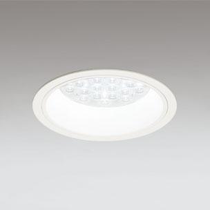 ◎ODELIC LEDベースダウンライト CDM-TP70W相当 オフホワイト 47° 埋込穴Φ150mm 温白色 3500K  M形 一般型 調光非対応 XD258574F ※受注生産品