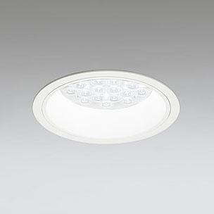◎ODELIC LEDベースダウンライト CDM-TP70W相当 オフホワイト 47° 埋込穴Φ150mm 温白色 3500K  M形 一般型 専用調光器対応 XD258574P (調光器・信号線別売) ※受注生産品