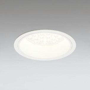 ◎ODELIC LEDベースダウンライト CDM-TP70W相当 オフホワイト 47° 埋込穴Φ150mm 電球色 3000K  M形 一般型 調光非対応 XD258576F ※受注生産品