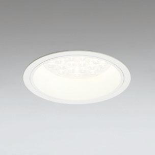 ◎ODELIC LEDベースダウンライト CDM-TP70W相当 オフホワイト 14° 埋込穴Φ150mm 電球色 3000K  M形 一般型 調光非対応 XD258588F ※受注生産品