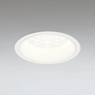 ◎ODELIC LEDベースダウンライト CDM-TP70W相当 オフホワイト 27° 埋込穴Φ150mm 電球色 3000K  M形 一般型 調光非対応 XD258590F ※受注生産品