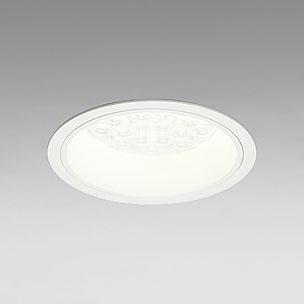 ◎ODELIC LEDベースダウンライト CDM-TP70W相当 オフホワイト 27° 埋込穴Φ150mm 電球色 3000K  M形 一般型 専用調光器対応 XD258590P (調光器・信号線別売) ※受注生産品