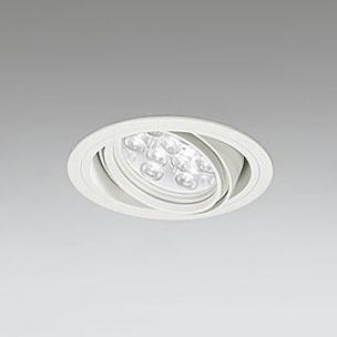 ◎ODELIC LEDユニバーサルダウンライト CDM-T35W相当 オフホワイト 47° 埋込穴Φ125mm 白色 4000K  M形 一般型 専用調光器対応 XD258606P (調光器・信号線別売) ※受注生産品