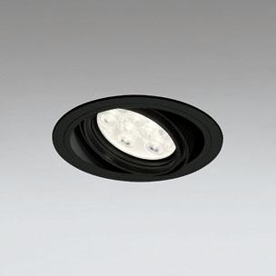 ◎ODELIC LEDユニバーサルダウンライト CDM-T35W相当 ブラック 20° 埋込穴Φ125mm 電球色 3000K  M形 一般型 調光非対応 XD258619F ※受注生産品
