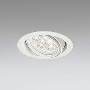 ◎ODELIC LEDユニバーサルダウンライト CDM-T35W相当 オフホワイト 27° 埋込穴Φ125mm 電球色 3000K  M形 一般型 専用調光器対応 XD258620P (調光器・信号線別売) ※受注生産品