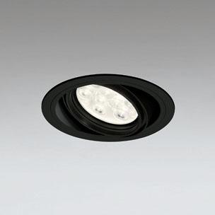 ◎ODELIC LEDユニバーサルダウンライト CDM-T35W相当 ブラック 27° 埋込穴Φ125mm 電球色 3000K  M形 一般型 調光非対応 XD258621F ※受注生産品