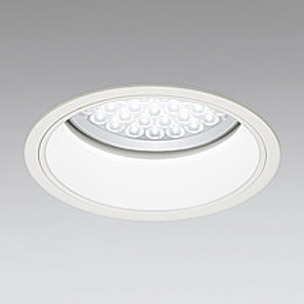 ◎ODELIC LEDベースダウンライト FHT42W×3灯相当 アイボリーホワイト 69° 埋込穴Φ200mm 白色 4000K  M形 一般型 専用調光器対応 XD258627P (調光器・信号線別売) ※受注生産品