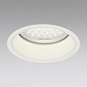 ◎ODELIC LEDベースダウンライト FHT42W×3灯相当 アイボリーホワイト 69° 埋込穴Φ200mm 電球色 3000K  M形 一般型 専用調光器対応 XD258631P (調光器・信号線別売) ※受注生産品
