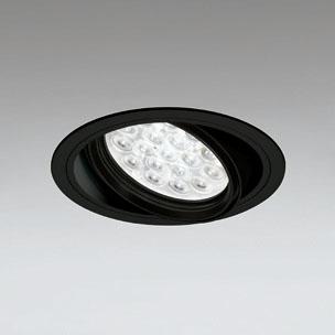 ◎ODELIC LEDユニバーサルダウンライト CDM-T70W相当 ブラック 47° 埋込穴Φ150mm 温白色 3500K  M形 一般型 調光非対応 XD258665F ※受注生産品