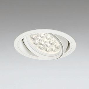 ◎ODELIC LEDユニバーサルダウンライト CDM-T70W相当 オフホワイト 14° 埋込穴Φ150mm 電球色 3000K  M形 一般型 調光非対応 XD258666F ※受注生産品