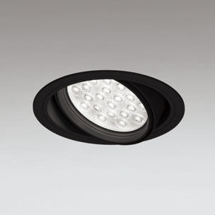 ◎ODELIC LEDユニバーサルダウンライト CDM-T70W相当 ブラック 14° 埋込穴Φ150mm 温白色 3500K  M形 一般型 調光非対応 XD258822F ※受注生産品