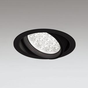 ◎ODELIC LEDユニバーサルダウンライト CDM-T70W相当 ブラック 47° 埋込穴Φ150mm 温白色 3500K  M形 一般型 調光非対応 XD258828F ※受注生産品