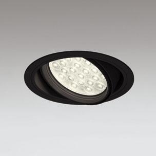 ◎ODELIC LEDユニバーサルダウンライト CDM-T70W相当 ブラック 20° 埋込穴Φ150mm 電球色 3000K  M形 一般型 調光非対応 XD258834F ※受注生産品