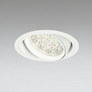 ◎ODELIC LEDユニバーサルダウンライト CDM-T70W相当 オフホワイト 27° 埋込穴Φ150mm 電球色 3000K  M形 一般型 専用調光器対応 XD258835P (調光器・信号線別売) ※受注生産品