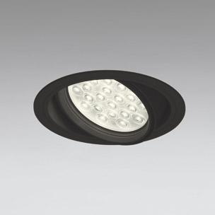◎ODELIC LEDユニバーサルダウンライト CDM-T70W相当 ブラック 27° 埋込穴Φ150mm 電球色 3000K  M形 一般型 専用調光器対応 XD258836P (調光器・信号線別売) ※受注生産品