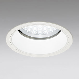 ◎ODELIC LEDベースダウンライト セラミックメタルハライド100W相当 アイボリーホワイト 29° 埋込穴Φ200mm 白色 4000K  M形 一般型 調光非対応 XD301027 ※受注生産品