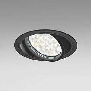 ◎ODELIC LEDユニバーサルダウンライト CDM-T70W相当 ブラック 53° 埋込穴Φ150mm 精肉・青果用 3200K  M形 一般型 調光非対応 XD301048 ※受注生産品