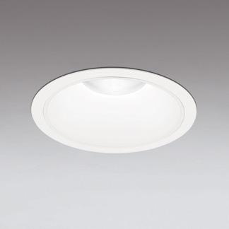 ◎ODELIC LEDベースダウンライト FHT42W×3灯相当 オフホワイト 72°防雨形 埋込穴Φ250mm 電球色 3000K  M形 一般型 専用調光器対応 XD301188 (電源・調光器・信号線別売) ※受注生産品