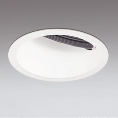 ◎ODELIC LED高効率ウォールウォッシャー セラメタ100W相当 オフホワイト 広拡散 埋込穴Φ150mm 電球色 3000K  M形 一般型 専用調光器対応 XD401145 (電源・調光器・信号線別売)