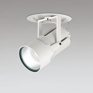 ◎ODELIC LEDハイパワーフィクスドダウンスポットライト セラメタ150W相当 オフホワイト 34° 埋込穴Φ175mm 電球色 3000K  M形 一般型 専用調光器対応 XD404023 (電源・調光器・信号線別売)