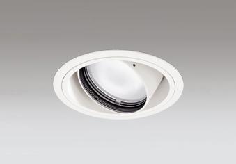 ◎ODELIC LED高彩色ユニバーサルダウンライト CDM-T70W相当 オフホワイト スプレッド 埋込穴Φ125mm 白色 4000K  M形 一般型 専用調光器対応 XD402303H (電源・調光器・信号線別売)