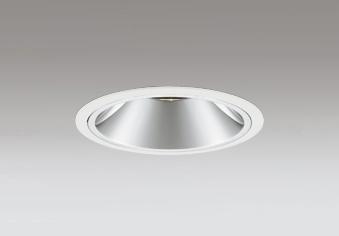 ◎ODELIC LEDベースダウンライト グレアレス CDM-T35W相当 オフホワイト 23° 埋込穴Φ125mm 電球色 2700K  M形 一般型 専用調光器対応 XD402354H (電源・調光器・信号線別売)