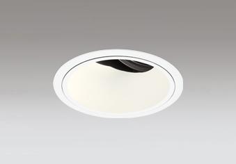 ◎ODELIC LED高効率ユニバーサルダウンライト CDM-T70W相当 オフホワイト 24° 埋込穴Φ125mm 電球色 3000K  M形 一般型 専用調光器対応 XD402466 (電源・調光器・信号線別売)