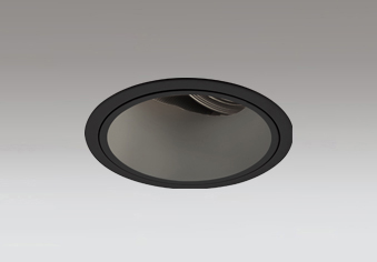 ◎ODELIC LED高効率ユニバーサルダウンライト CDM-T70W相当 ブラック 24° 埋込穴Φ125mm 電球色 3000K  M形 一般型 専用調光器対応 XD402467 (電源・調光器・信号線別売)