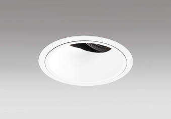 ◎ODELIC LED高効率ユニバーサルダウンライト CDM-T70W相当 オフホワイト 34° 埋込穴Φ125mm 白色 4000K  M形 一般型 専用調光器対応 XD402470 (電源・調光器・信号線別売)
