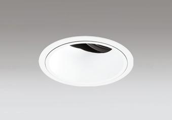 ◎ODELIC LED高効率ユニバーサルダウンライト CDM-T70W相当 オフホワイト 34° 埋込穴Φ125mm 温白色 3500K  M形 一般型 専用調光器対応 XD402472 (電源・調光器・信号線別売)