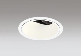 ◎ODELIC LED高彩色ユニバーサルダウンライト CDM-T70W相当 オフホワイト 34° 埋込穴Φ125mm 電球色 3000K  M形 一般型 専用調光器対応 XD402474H (電源・調光器・信号線別売)
