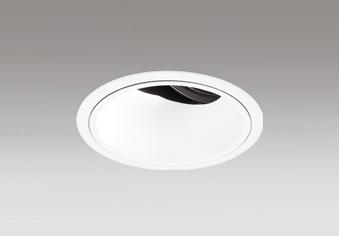 ◎ODELIC LED高効率ユニバーサルダウンライト CDM-T70W相当 オフホワイト 41° 埋込穴Φ125mm 温白色 3500K  M形 一般型 専用調光器対応 XD402480 (電源・調光器・信号線別売)