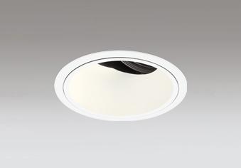 ◎ODELIC LED高効率ユニバーサルダウンライト CDM-T70W相当 オフホワイト 41° 埋込穴Φ125mm 電球色 3000K  M形 一般型 専用調光器対応 XD402482 (電源・調光器・信号線別売)